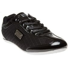 New Mens Henleys Black Diamond Synthetic Trainers Lace Up