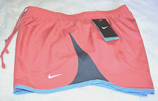 NWT Nike Women's Pacer Running Work Out Shorts  With Liner Vintage Pink S L XL