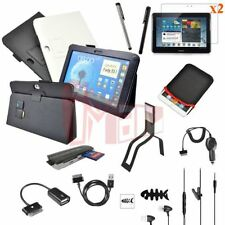 """12in1 Accessory Leather Case Charger For Samsung Galaxy Note 10.1"""" N8000 N8010"""