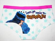 bnwt Sesame Street cartoon character ladies Novelty Cookie Monster briefs UK 20