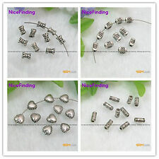 Charms Metal Tibetan Silver Crafts Spacer Beads For Jewelry Making Finding Lot
