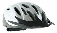 NEW ARINA GIRO CYCLE HELMET WHITE SILVER - CYCLING ROAD MTB BIKE BICYCLE 3 SIZES