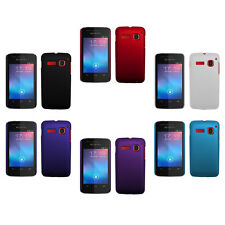 Hard Rubberized Matte Snap-On Cover Case For Alcatel One Touch S'Pop OT-4030