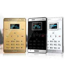 Ultra Slim Mini Pocket Cell Mobile Phone GSM M3 MP3 Bluetooth Card Size K0TG