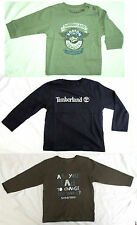 TIMBERLAND Designer Baby Boys Long Sleeve T-Shirt - New