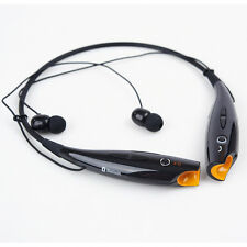 For Samsung iPhone LG Wireless Bluetooth Sports In-Ear Stereo Headset Headphone