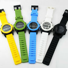 C6 US Mens Ladies Digital Watches Silicone Rubber Band Outdoor Color Storm HOT