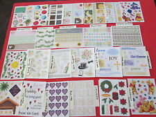 Creative Memories Choose 1 Block sticker sheet from Lot 17 save $ on s/h w more