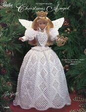Christmas Angel ~ Victorian, Paradise crochet patterns fit Barbie fashion dolls