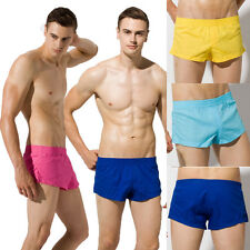 New Brand Cotton Men's Sports Boxer Shorts Boxer Briefs Underwears Size M L XL