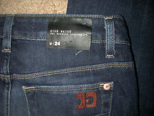 NWT Joe's Joes Visionaire Fit High Waist Boot Cut Women' Blue Jeans Sz 24x34