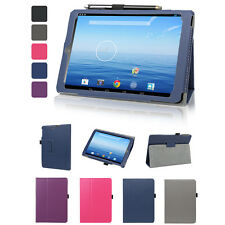 Leather Folio Stand Case Cover For E-Fun Nextbook 8 NX785QC8G 7.85-inch Tablet