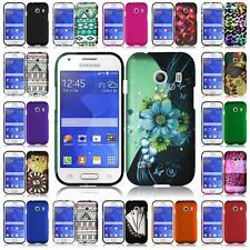 For Samsung Galaxy Ace Style S765C Slim Hard Snap on Cover Case + LCD Screen