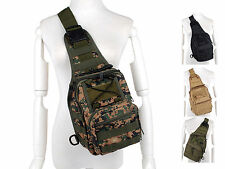 Tactical Combat Army Military Pack Shoulder Bag Cross Body Notebook Travel Molle