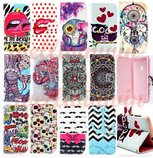 13 Style Select Flip PU Leather Wallet Case  Stand Cover For Various Cell Phones