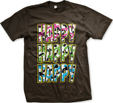 Happy Happy Happy Duck Dynasty Robertson Si FREE SHIPPING New Mens T-shirt