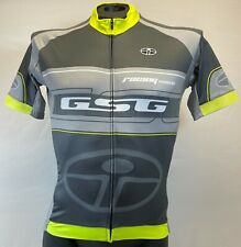 Interpower CYCLING SHORT SLEEVE JERSEY (Yellow /Grey) Made in Italy by GSG
