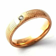Mesh Solitaire CZ Mens Womens Band Ring SZ 6-9# D2128-D2131