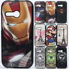 Shockproof Superhero Rugged Hybrid Bumper case cover for HTC One Mini 2 M8 Mini