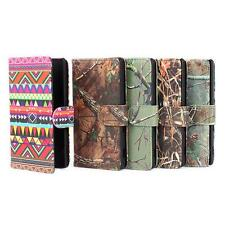 Wallet PU Leather Magnetic Flip Card Slot Stand Case Cover For Sony Xperia M2