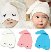 Baby Hats Cotton Infant Kids Eye Hat Girl Boy Beanies Headwear Sleep Cap Hats