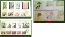 Benham FDC Silk Covers & Cards 1987 -  1996 Choice of Covers FREE UK POST