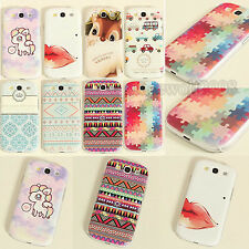 Paint Pattern Hard Skin Case Cover for Samsung Galaxy S3 S4 S5 i9300 i9500 i9600