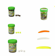 Berkley Gulp Alive ,  Floor Worm , Trout Pellet Garlic ,