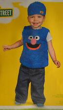 Infant Baby Toddler Boy Sesame Street Grover Outfit Halloween Costume 12-18M, 2T