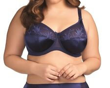 Elomi Caitlyn Underwired Full Cup Bra with Side Support EL8030 Ink New