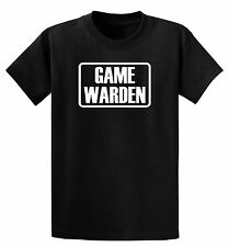GAME WARDEN, Infant One-Piece  or T-Shirt Tee- Children's 6mos to 18/20Y