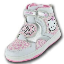 """Girls HELLO KITTY """"Himalayan"""" Hi-Top Trainers Sizes 8 - 2 *NEW*"""