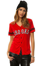 Karmaloop Crooks and Castles The Athletica Baseball Jersey Red
