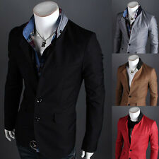 Men's Business Casual Blazers Coats Korean Sexy Slim Three Buttons Suits Jackets