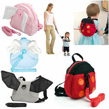 New Baby Toddler Safety Harness kids Rein Backpack Walker Bouncer Buddy Strap