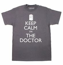 Doctor Who Keep Calm I'm The Doctor Mens T-Shirt