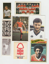 Football : Nottingham Forest tobacco, trade + game cards