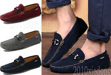 Hot Sale Men's Leisure Flats Slip-on Breathable Loafers Driving Moccasins Shoes