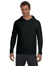 Anvil T-Shirt 987AN Basic Men's Ringspun Long-Sleeve Hooded