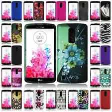 For LG G VISTA VS880 Ultra Slim Hard Snap on Cover Case + LCD Screen Protector