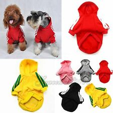 Fashion Pet Dogs Clothes Puppy Cats Hoodie Warm Coat Clothing Costume S-XXL New
