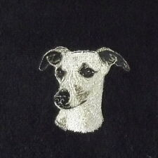 Whippet Dog Embroidered Towels