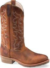 MENS DOUBLE H WESTERN WORK BOOTS DH1552-FOLKLORE OLD TOWN LEATHER!