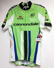 2014 Cannondale Cycling Pro Team Short Sleeve Jersey in Green by Sugoi