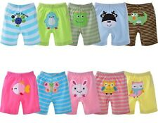 AKP003 Lovely Cartoon Toddler Boy Girl Unisex Baby PP Pants Shorts For 12-18M