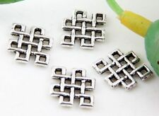 Wholesale 90/160Pcs Tibetan Silver  Connectors   Findings  9mm(Lead-free)