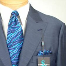 46R STEVE HARVEY  2B Slate Blue SUIT SEPARATE  46 Regular Mens Suits - SS14