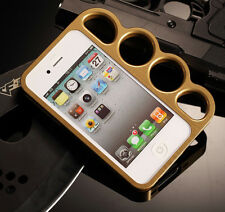 SALE! Aluminium boxing gloves Lord Rings Knuckles Bumper Case For iPhone4 4S