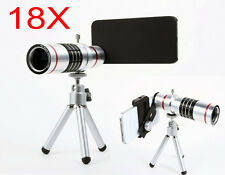 NEW 18x Optical zoom Telephoto Telescope lens for iphone Samsung HTC SONY NOKIA