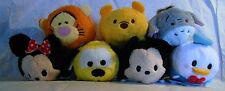 """TSUM TSUM"" DISNEY PLUSH MINI 3 1/2"" MICKEY MINNIE DONALD WINNIE TIGGER & MORE"